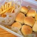 ミニバーガーを日本一簡単に家で焼けるパンレシピで作ったよ