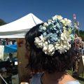 CHACOのワイヤー花冠はコサージュにも!フェスのヘアアレンジOK