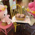可愛すぎ♡マイメロ&マイスウィートピアノのカフェの店内