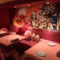 ふしぎの国のアリスの世界!新宿駅前の魔法の国のアリスレストラン♡