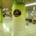 野菜の日にちなんだ面白広告!新宿駅地下通路に巨大な野菜が生えているよ♡